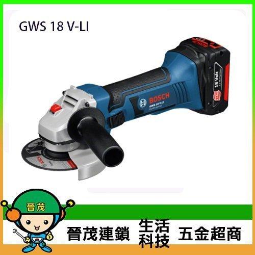 """砂輪機4"""" GWS 18V-Li(單機)"""
